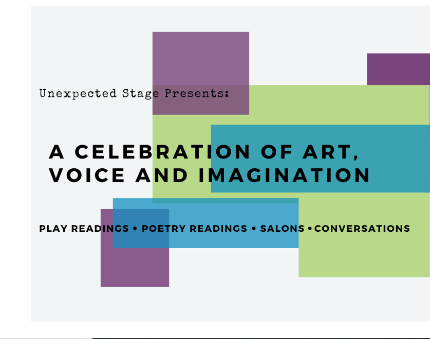 Logo for A Celebration of Art, Voice and Imagination